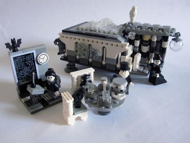 Ada Lovelace, Charles Babbage, y la máquina analítica en Lego