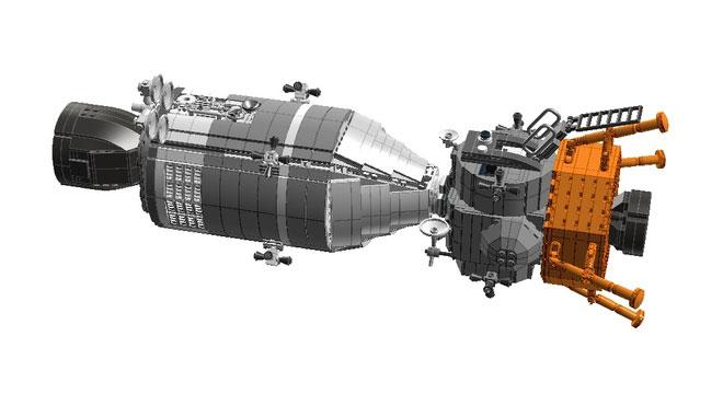 Apolo 11 de Lego por Luis PG