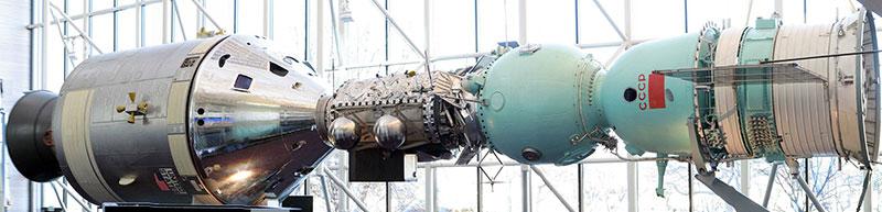 Apolo Soyuz en el NASM