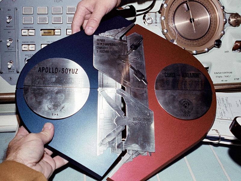 Placa Apolo-Soyuz