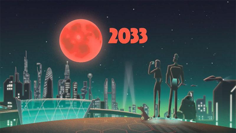 Eclipse lunar de 2033