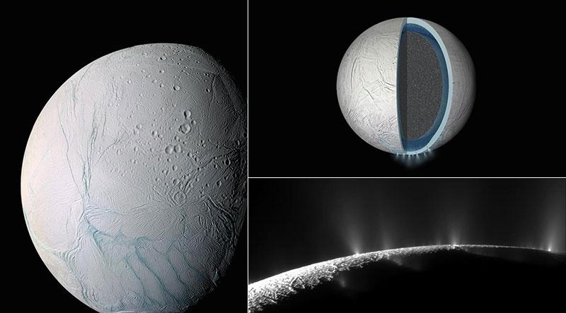 Encélado y su mar