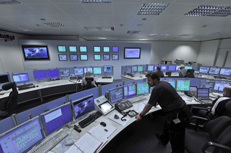Sala de control de Estrack