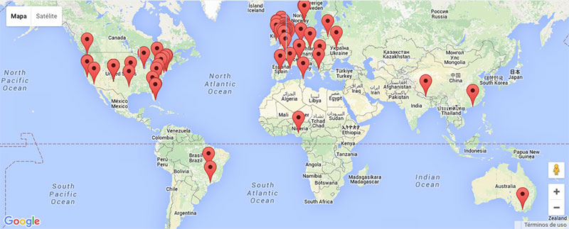 Eventos programados para 2015