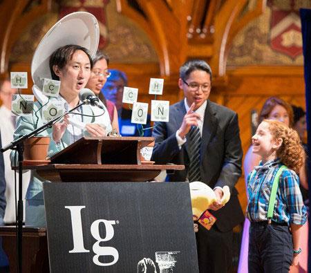 Discurso de aceptación del Ig Nobel 2015 de Física