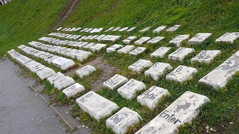 Monumento al teclado