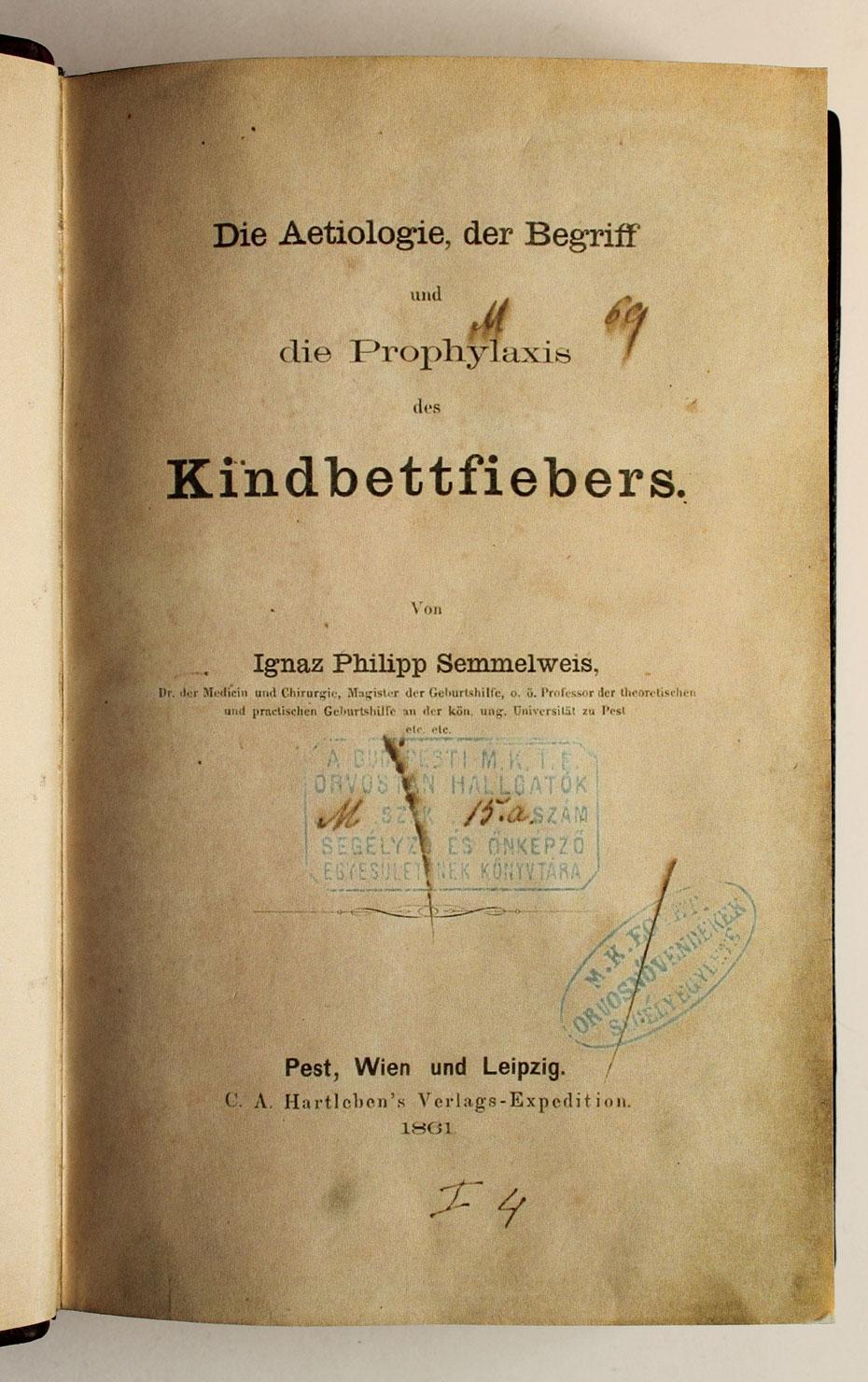 Portada Semmelweiss