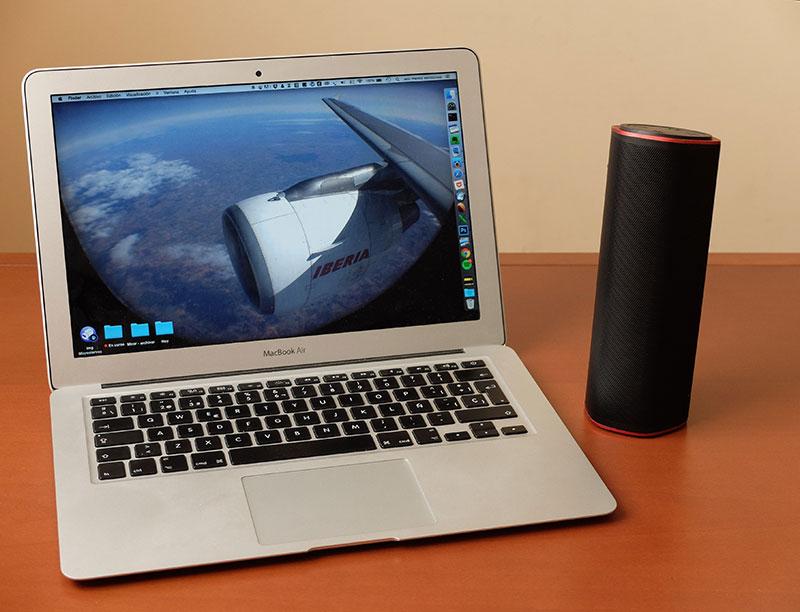 Sound Blaster FRee y MacBook Air