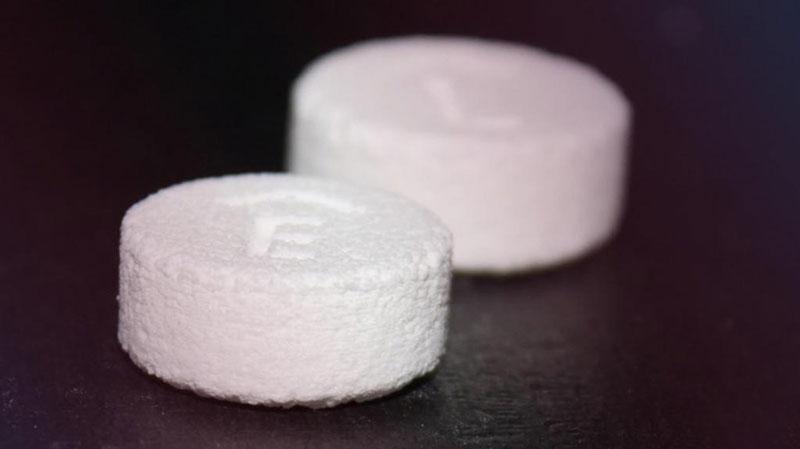 Spritam impreso en 3D