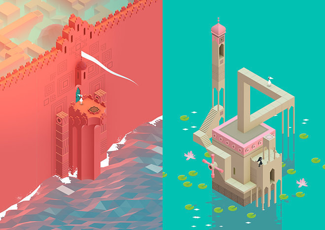Monument Valley Floating World Stills