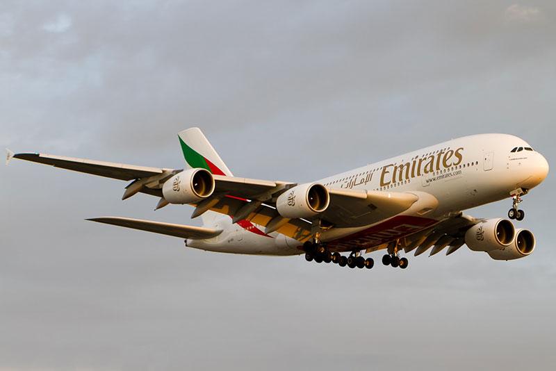 A380 de Emirates