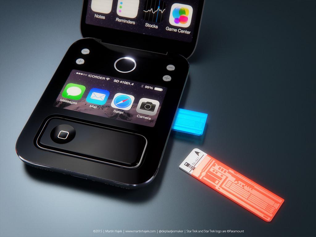 Apple Star Trek Tricorder / iCorder Concept