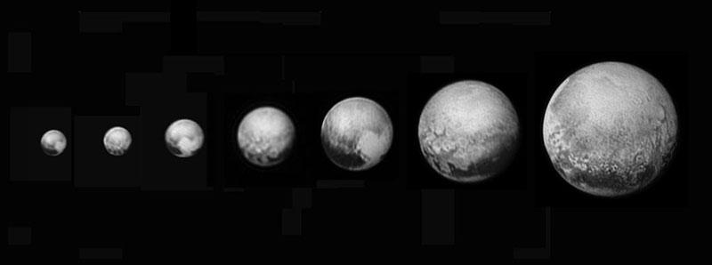 Plutón del 25 de junio al 11 de julio