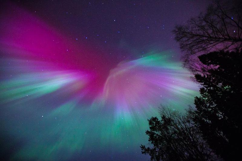 Aurora sobre Estocolmo por Anders Jildén