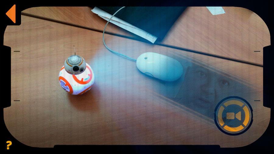 Grabación de mensajes con BB-8