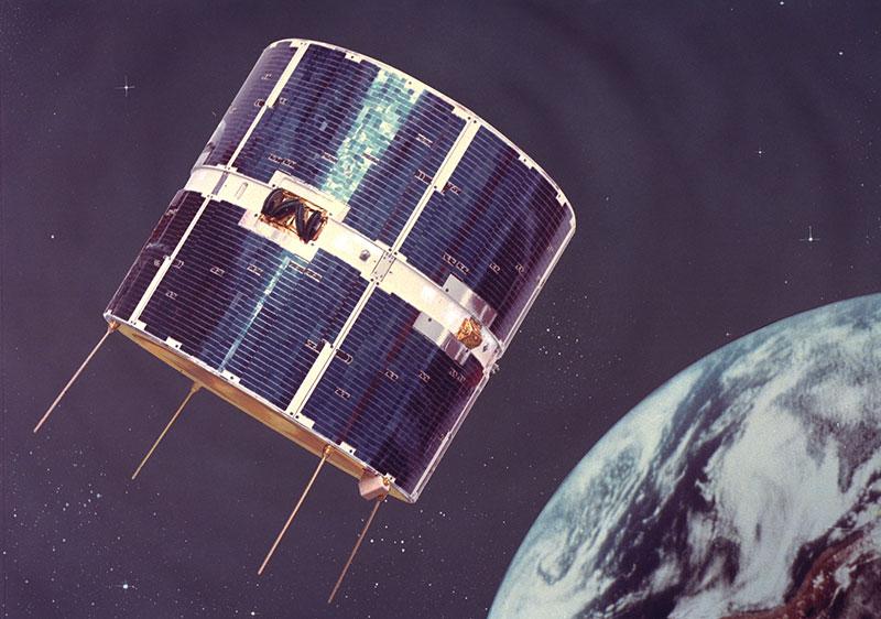 COS-B en órbita