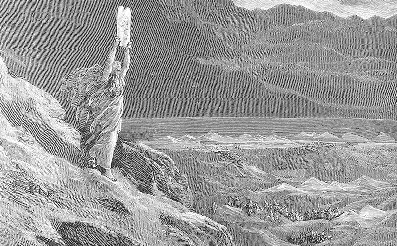 Moises, por Gustave Doré