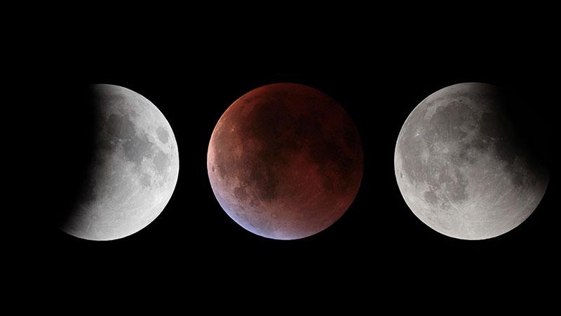 Eclipse de septiembre de 2015 por Paco Bellido