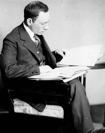 Emmanuel Goldberg en 1907