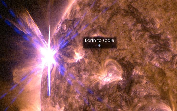 Erupción solar del 5 de mayo de 2015