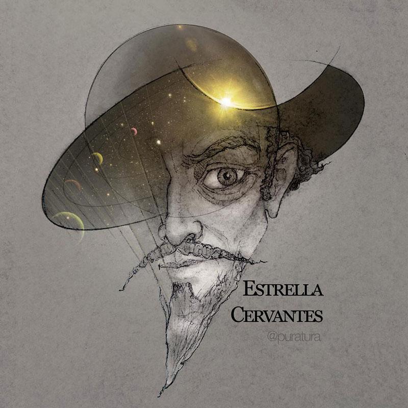 Estrella Cervantes por Puratura