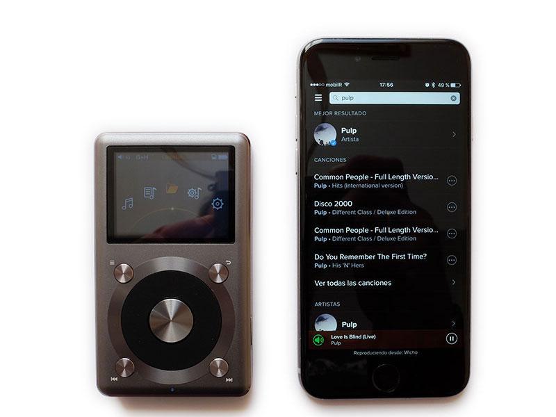 FiiO X3 II vs iPhone 6