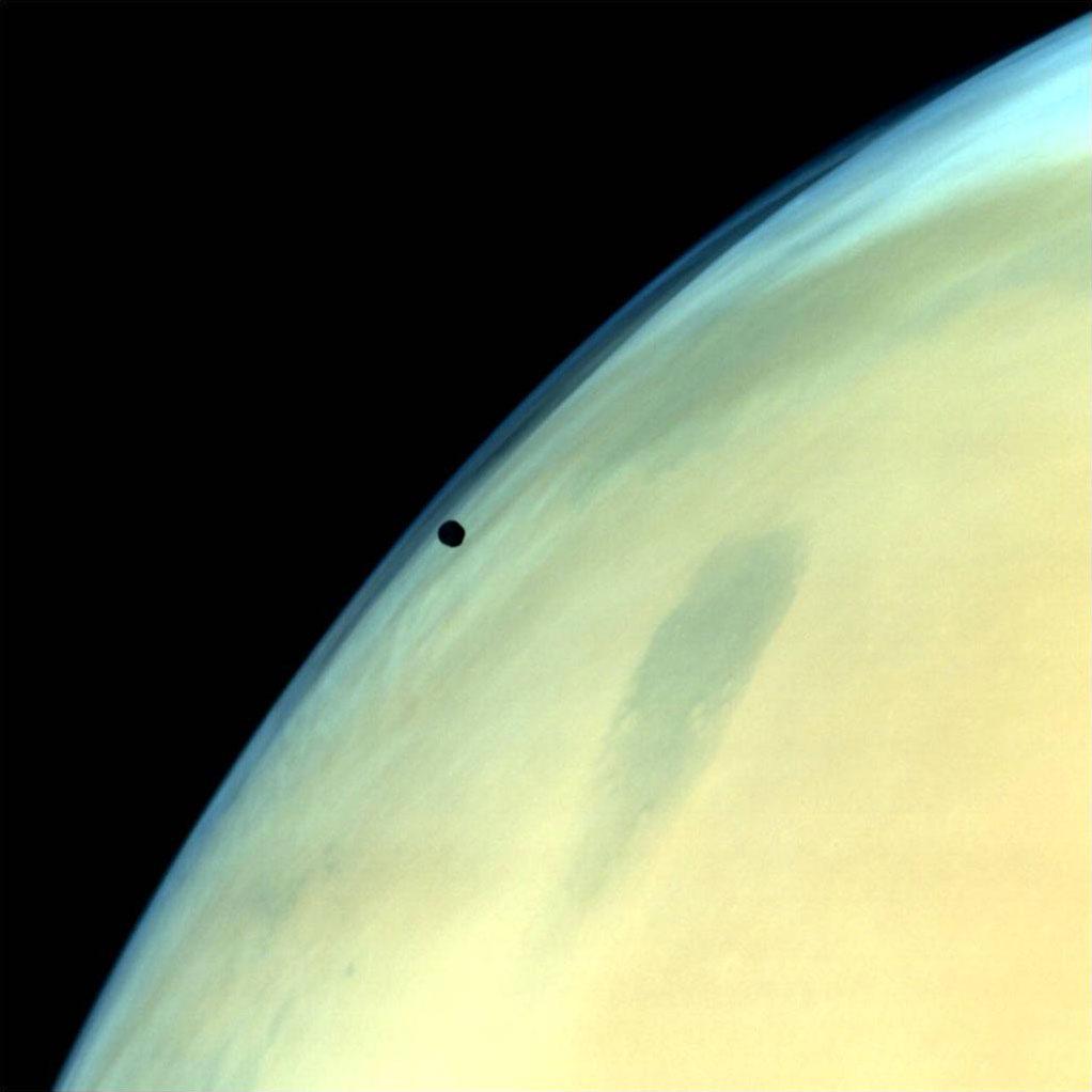 Fobos y Marte vistos por la MOM
