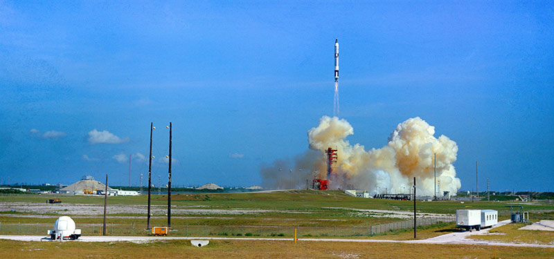 Lanzamiento de la Gemini V