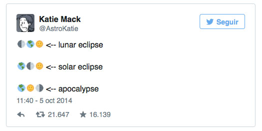 Eclipse vs apocalipsis