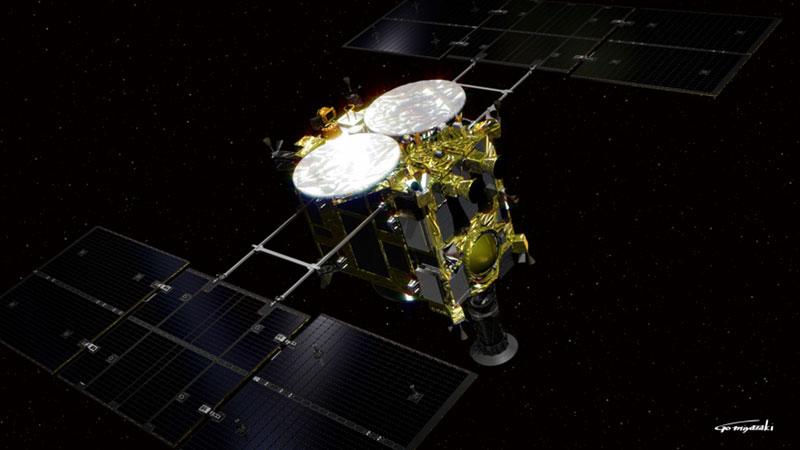 Hayabusa 2 rumbo a su destino