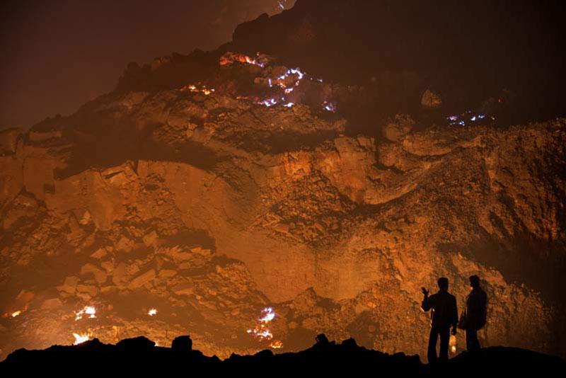El incendio de Jharia