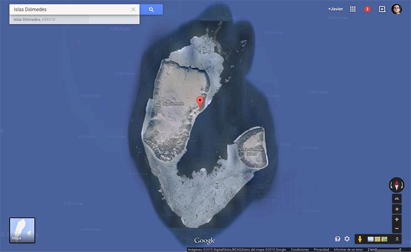 Las Diómedes en Google Maps