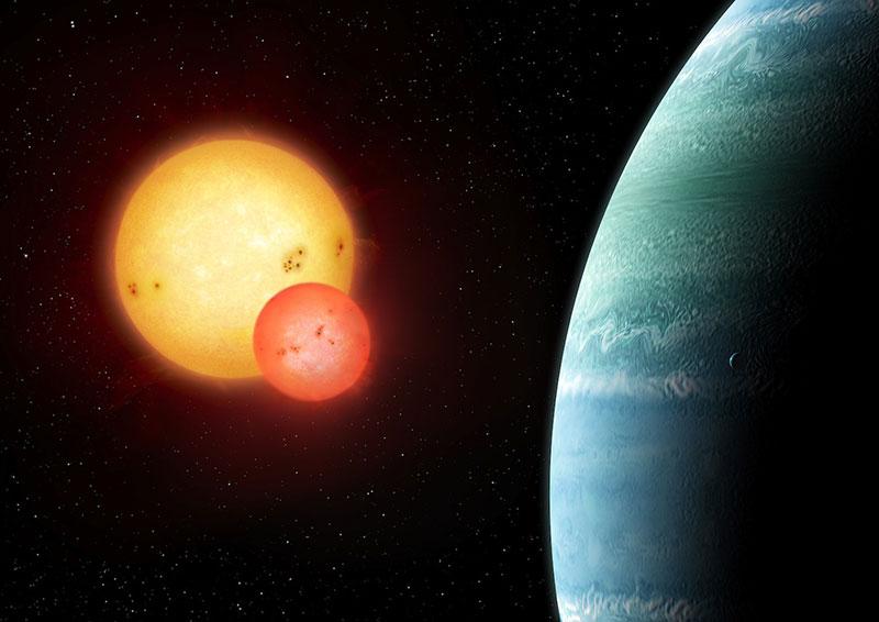 Impresión artística de Kepler-453b