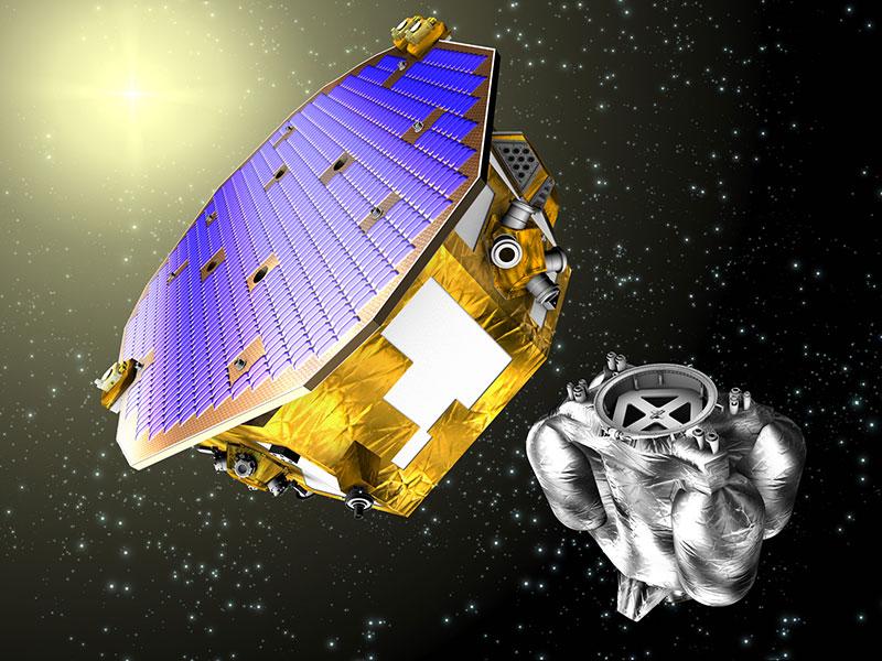 LISA Pathfinder en el espacio