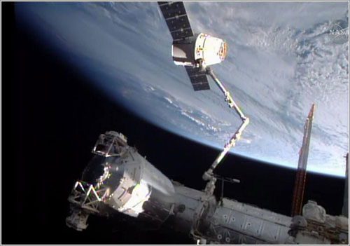 La Dragon CRS-3 a punto de ser liberada
