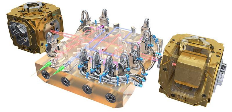Sistema óptico del LISA Pathfinder