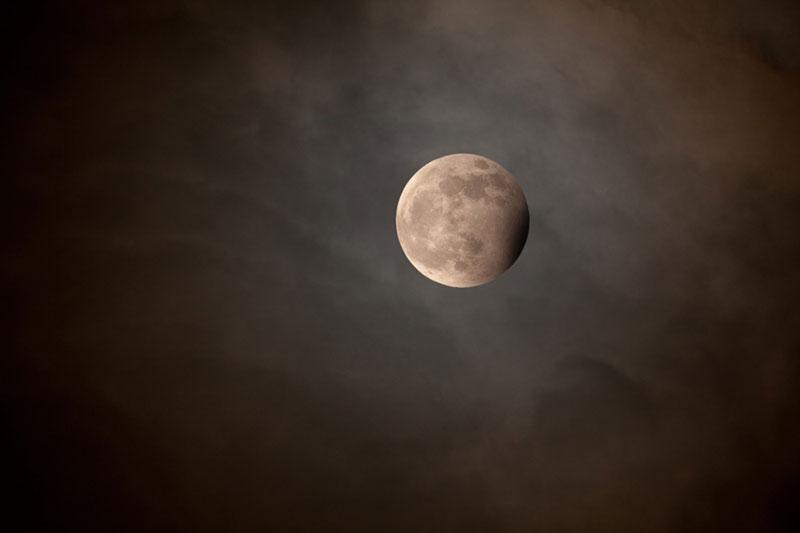 Luna azul del 31 de diciembre de 2009