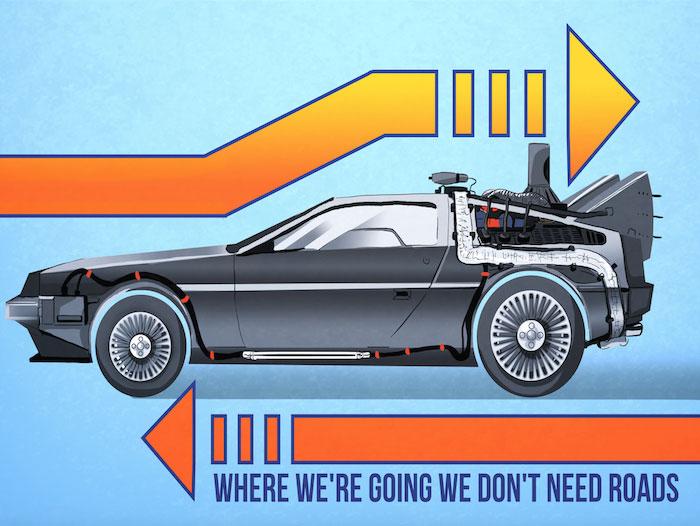 BTTF… Ya falta menos para que llegue Marty!