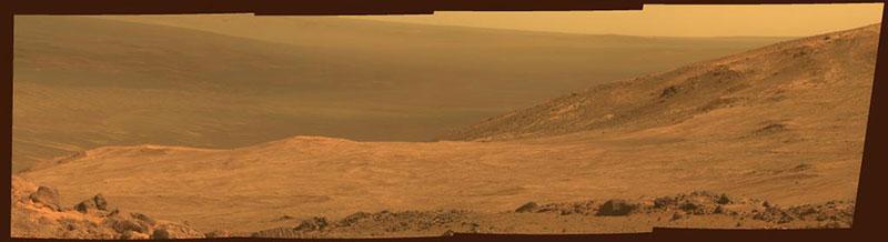 Marathon Valley en Marte
