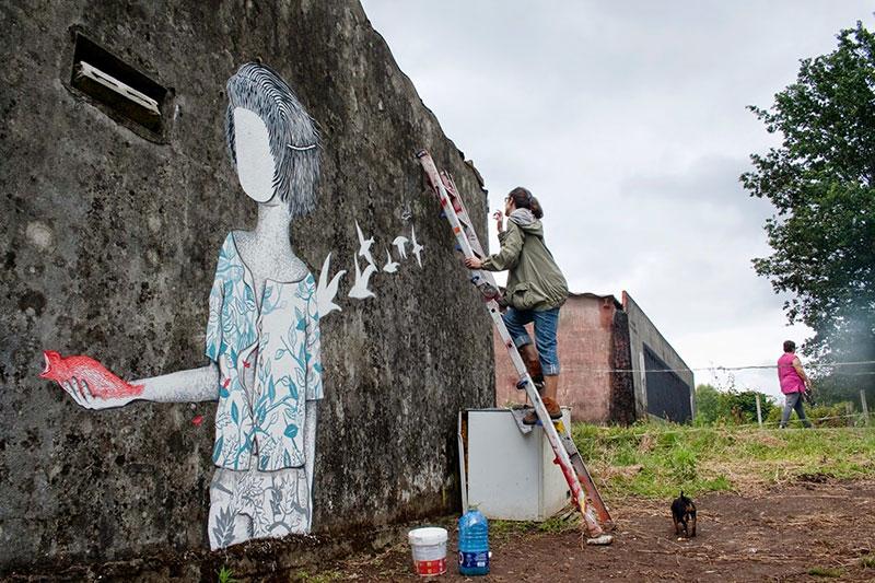 DesOrdes creativas, un festival de arte urbano en Galicia