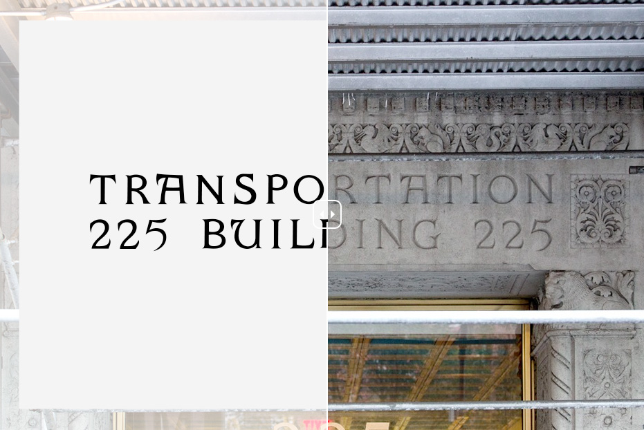 La tipografía de Nueva York