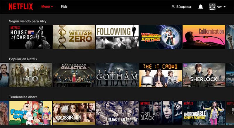 Netflix: el esperado aterrizaje en España del videoclub «definitivo»