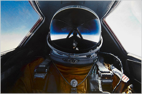 Piloto de un SR-71