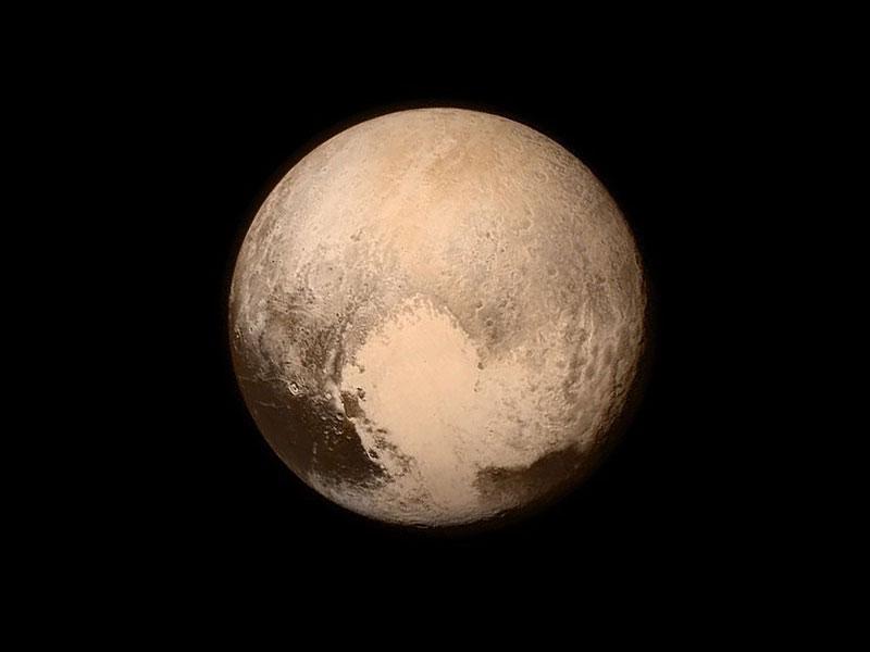 Plutón en 2015