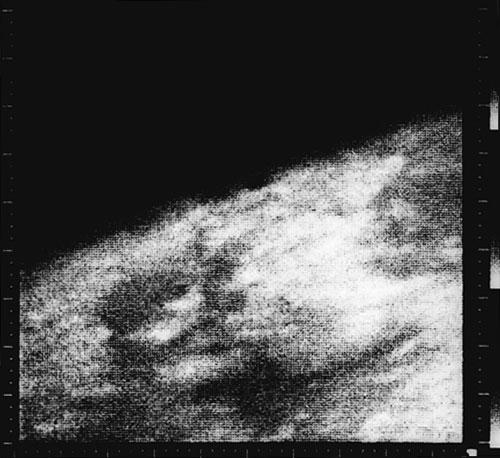Primera imagen de Marte desde cerca