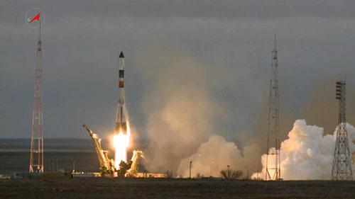 Lanzamiento de la Progress M-26M