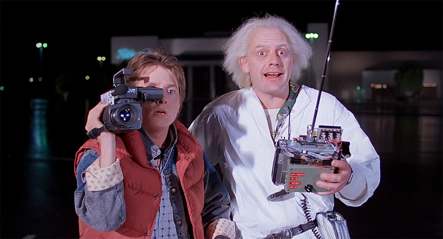 Regreso al Futuro: Marty y Doc