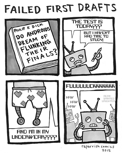 Robot Dreams by R.E. Parish http://reparrishcomics.com/post/114800397933/writing-help-from-laetusfelis