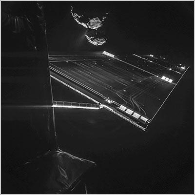 Rosetta y Philae a 16 km de 67P/C-G
