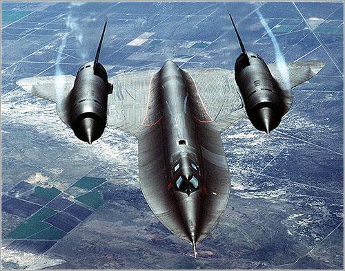 SR-71 en vuelo